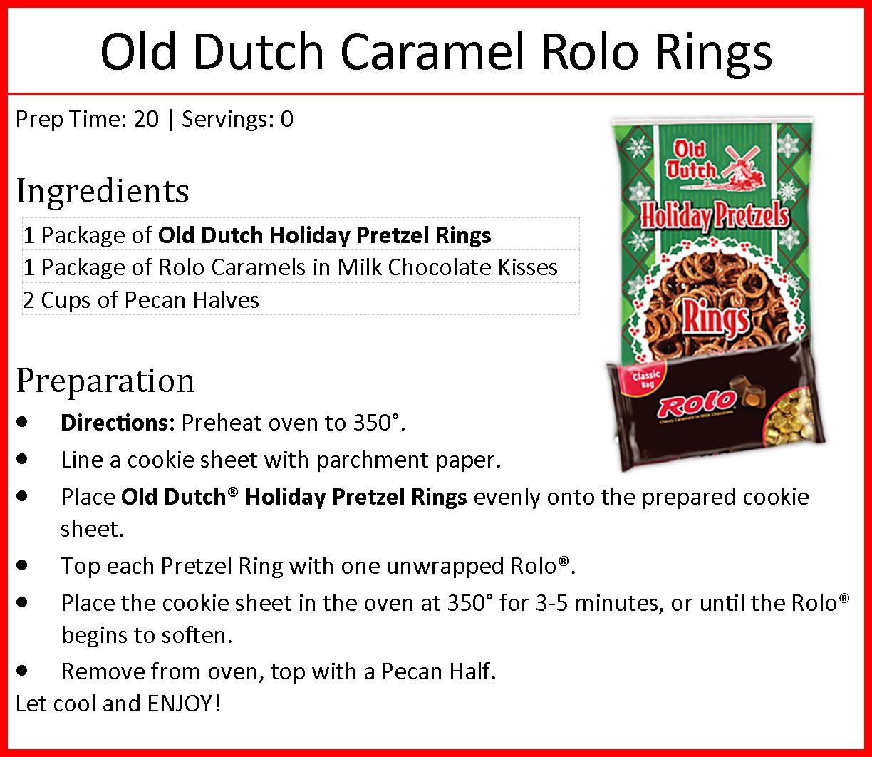 Holiday Rings Rolo Recipe