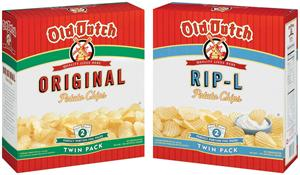 - Potato Chip Boxes and Dips -
