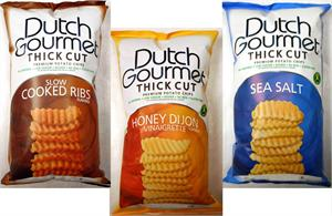 - Dutch Gourmet Premium Tortilla and Thick Cut Chips -