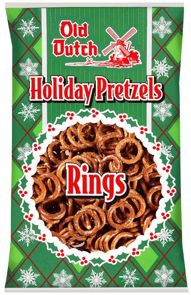Holiday Pretzel Rings